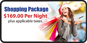 $169 Per Night Shopping Package