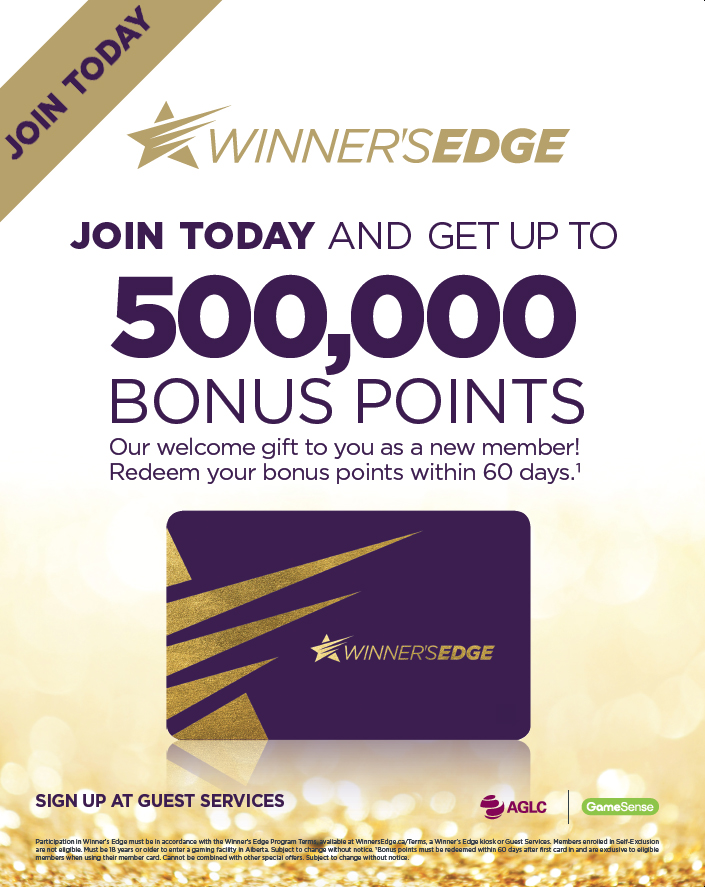 Winner's Edge Join Today!