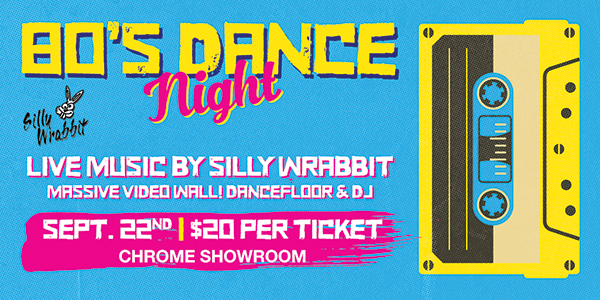 80s Dance Party SOLD OUT