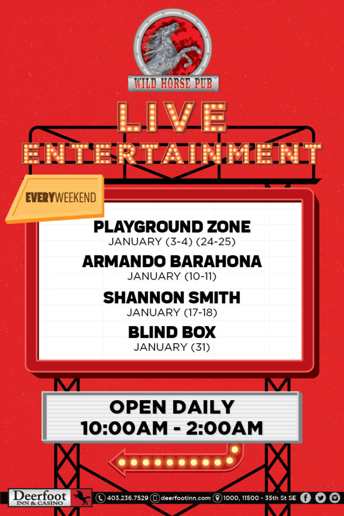 Live Entertainment at the Wild Horse Pub