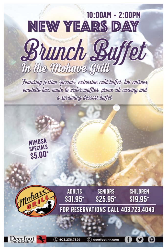 New Years Day Brunch Buffet at Mohave Grill