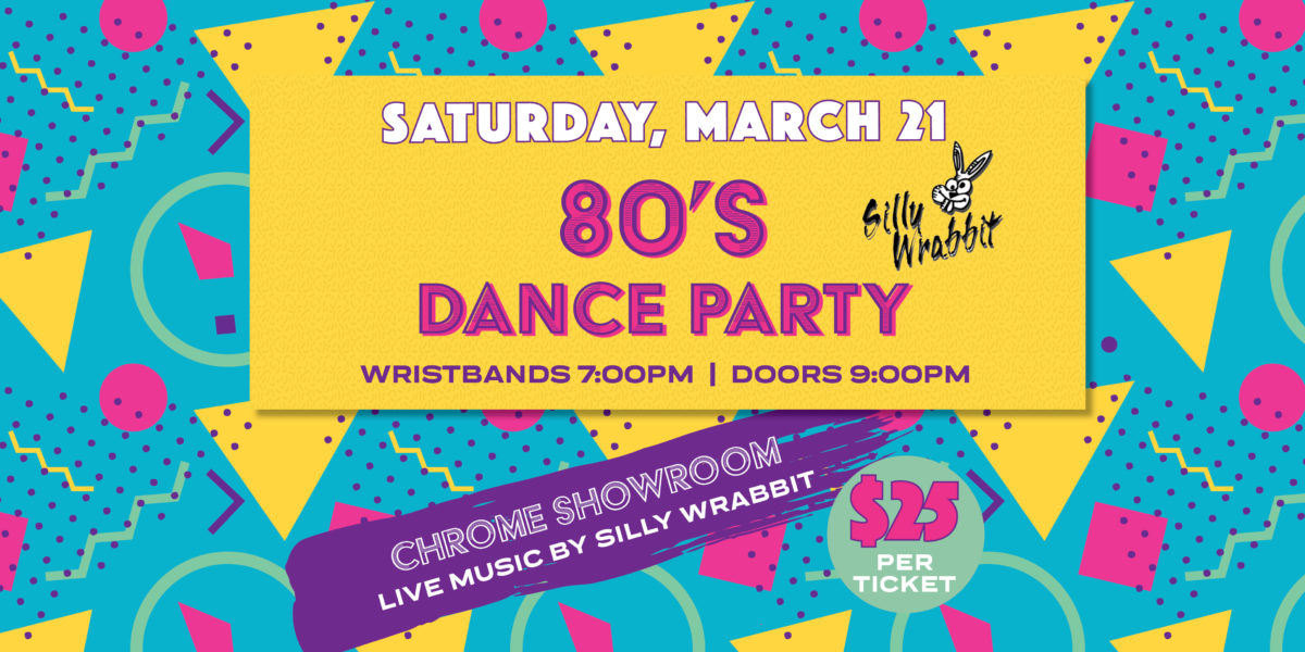 80s Dance Party with Silly Wrabbit