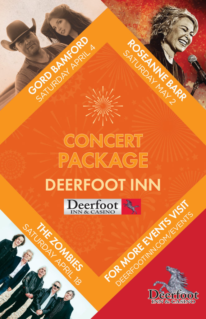 Concert Package at the Deerfoot Inn and Casino