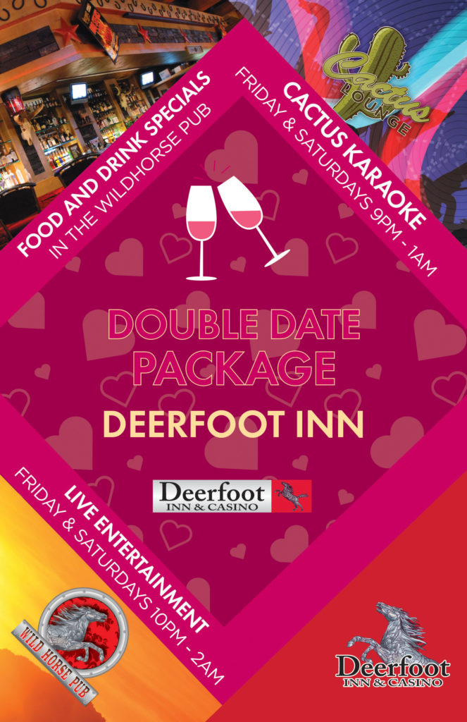 Double Date Package at the Deerfoot Inn and Casino