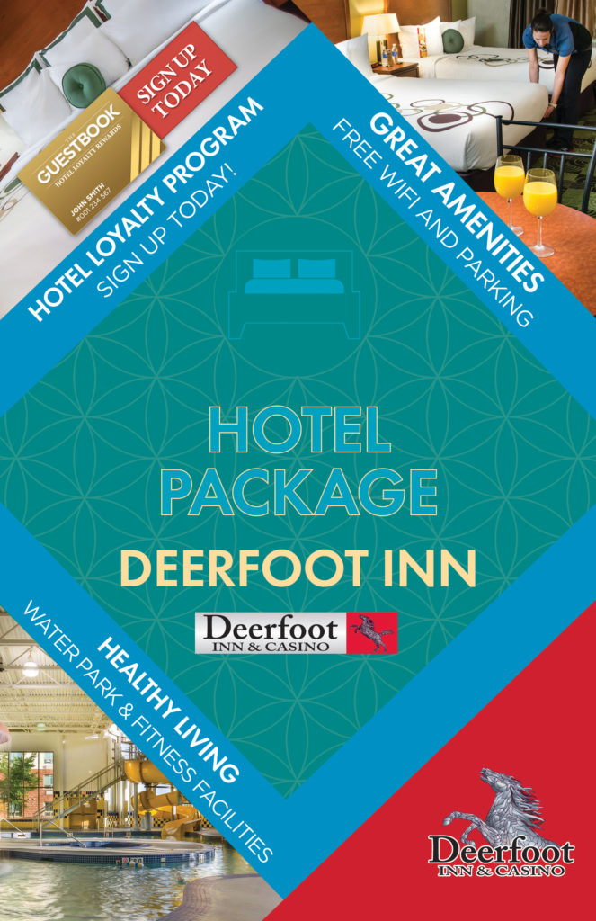 Hotel Package at the Deerfoot Inn and Casino