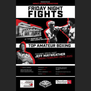 Friday Night Fights Impact Boxing