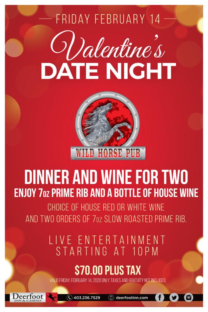 Valentine's Date Night in the Wild Horse Pub