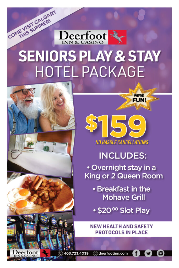 Seniors Stay and Play Hotel Package