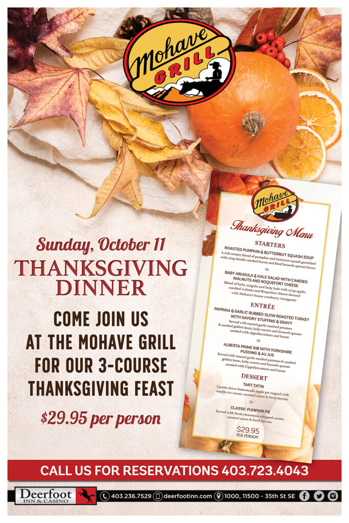 Thanksgiving Dinner at Mohave Grill